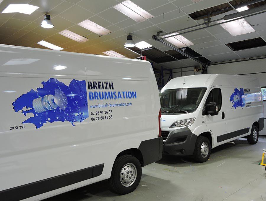 Breizh Brumisation Basée à Saint Yvi en Bretagne installe des équipements d'arrosage et brumisation